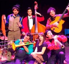 Moralzarzal | Proezas Sincopadas, espectáculo de circo para toda la familia en el Parque de El Raso