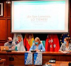 San Lorenzo de El Escorial | Presentado el nuevo directorio comercial que ofrece un canal de venta online