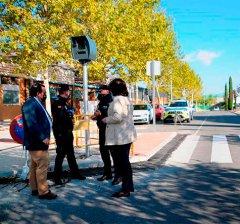 Boadilla del Monte | El Ayuntamiento instala cajas para alojar el radar móvil que emplea la Policía Local