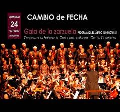 Villaviciosa de Odón | La Gala de la Zarzuela prevista para este sábado se traslada al domingo 24 de octubre