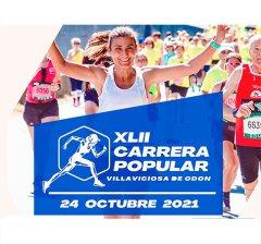 Villaviciosa de Odón | El municipio celebra su XLII Carrera Popular